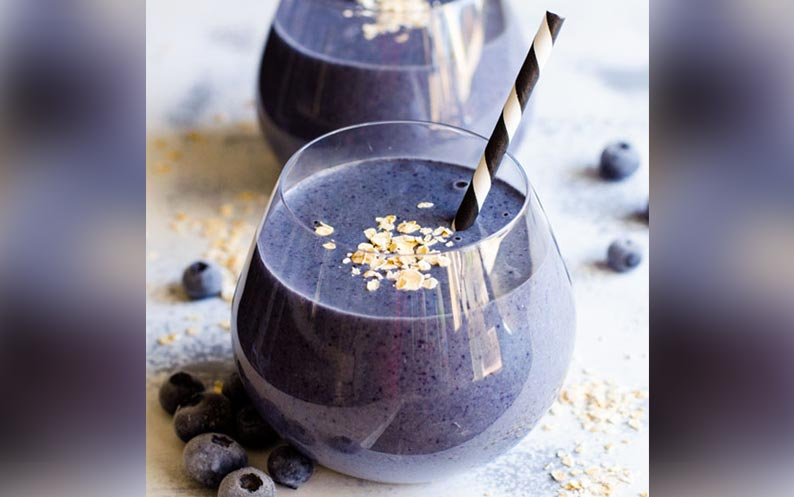 Berry Cacao Green Smoothie