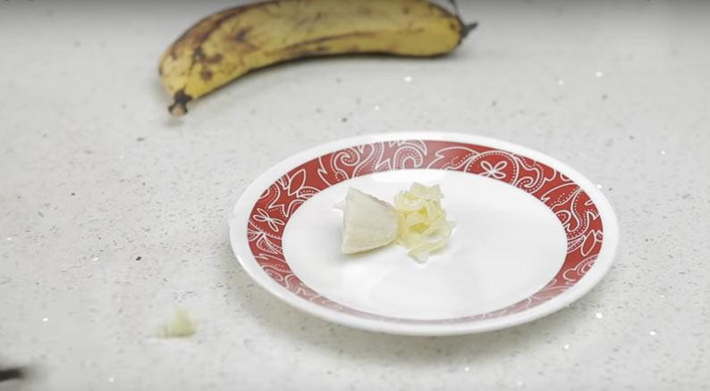 banana scraping